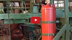 Испытания модулей пожаротушения на сейсмоударопрочность и сейсмостойкость
