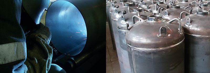 Производство баллонов для газового пожаротушения