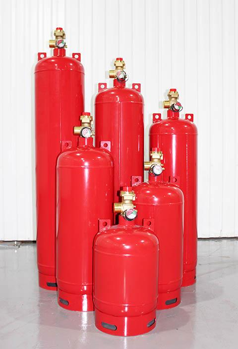 Модули газового пожаротушения МПА-KD 65
