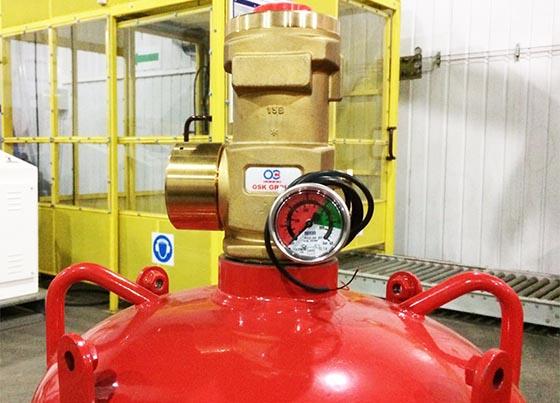 Газовое пожаротушение Хладон