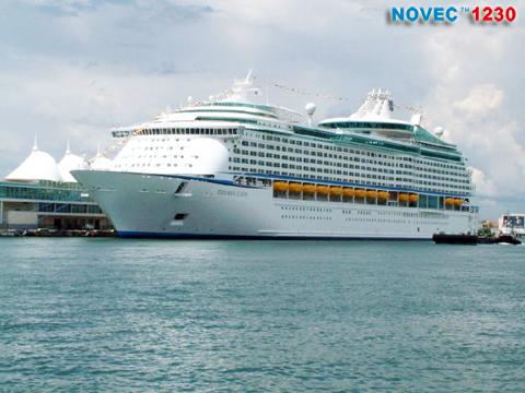 Novec™ 1230 Газовое пожаротушение для применений на кораблях и морских объектах