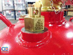 Фото 5: Модули газового пожаротушения с ГОТВ 3М Novec 1230 в сборе