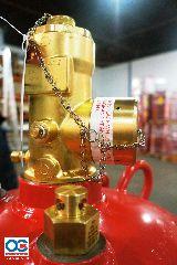 Модули газового пожаротушения МПА-KD с ГОТВ Novec 1230