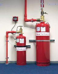 Система газового пожаротушения с ГОТВ 3M Novec 1230