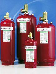 Типы модулей газового пожаротушения