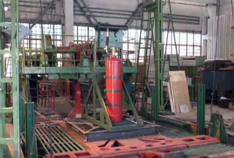 Автоматическая установка газового пожаротушения - АУГПТ