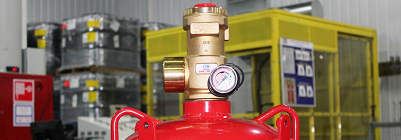 Производство модулей для автоматических установок газового пожаротушения АУГПТ