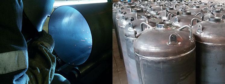 Производство баллонов на собственной производственной базе в РФ