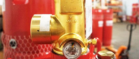 Газовое пожаротушение Novec 1230